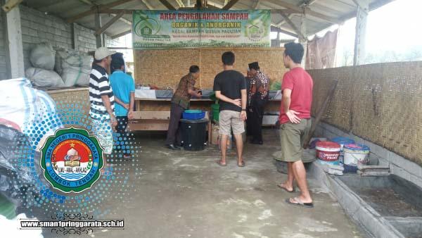 Kunjungan Kerja Bapak Kepala SMAN 1 Pringgarata ke Tempat Pengolahan Sampah