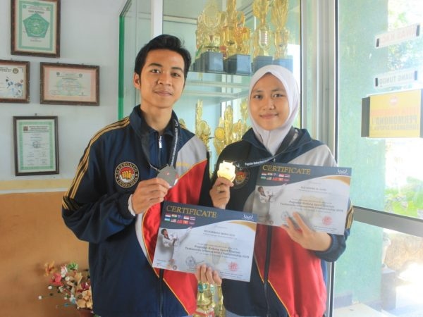 Taekwondo SMANSAPRI Juara International