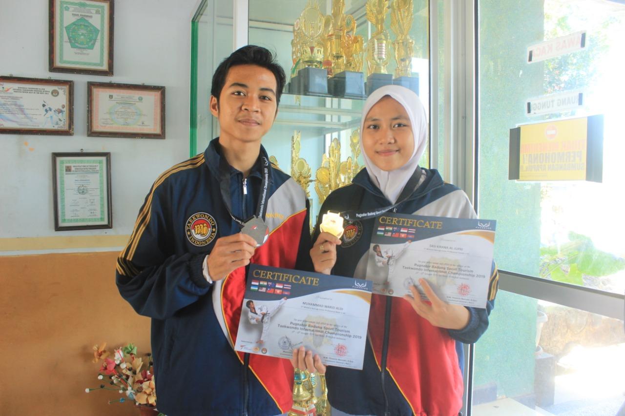 Taekwondo SMANSAPRI Juara International