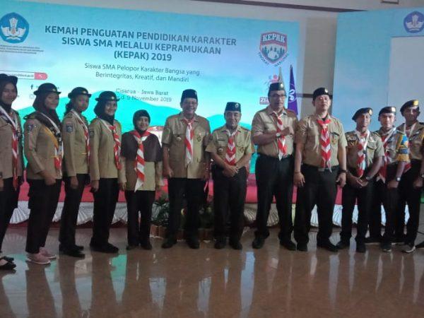 Pramuka SMAN 1 Pringgarata Raih Juara LGU Nasional 2019
