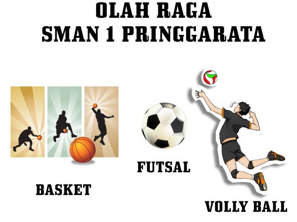 Team Bola Basket dan Volly