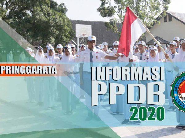 Pengumuman Kelulusan Calon Peserta Didik Baru Jalur Zonasi/Umum PPDB 2020