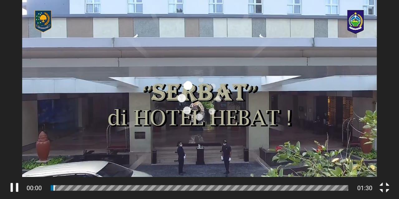 """Kreatifitas Dikbud NTB Tanpa Batas """"SERBAT DI HOTEL HEBAT"""""""