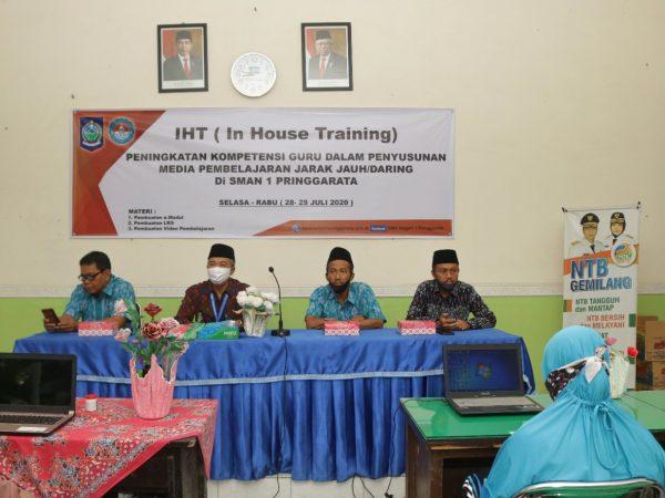 Kepala KCD Lombok Tengah Resmi Buka IHT di SMAN 1 Pringgarata