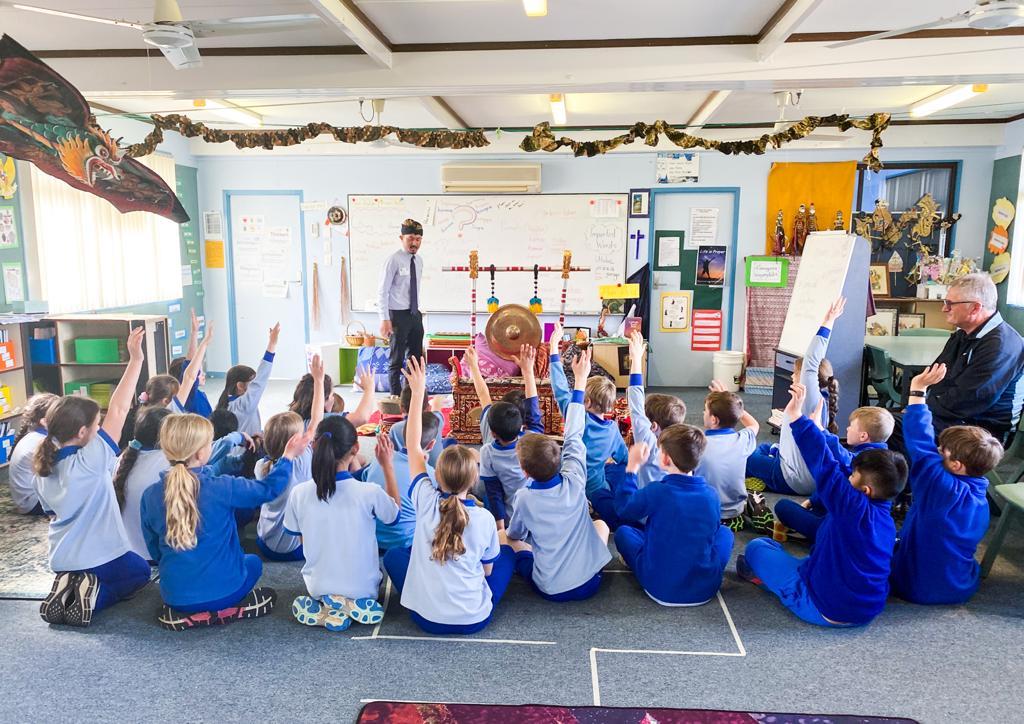 Siswa Canberra Diperkenalkan Budaya Indonesia