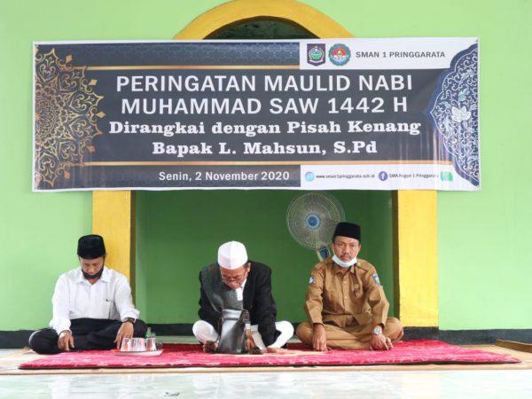 Peringatan Maulid Nabi Muhammad SAW Dirangkai dengan Pisah Kenang Bapak Lalu Mahsun, S.Pd