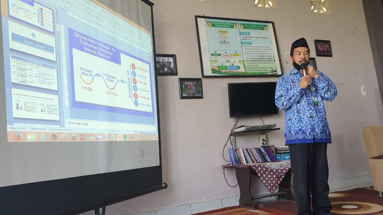 Dikbud NTB Lakukan Sosialisasi Assesmen Nasional 2021 di MKKS SMA Loteng.