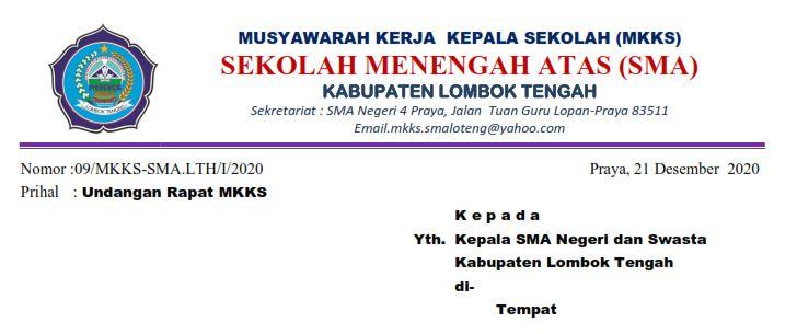 Menghadapi PTM Semester Genap 2021, MKKS Loteng Mantapkan Persiapan.