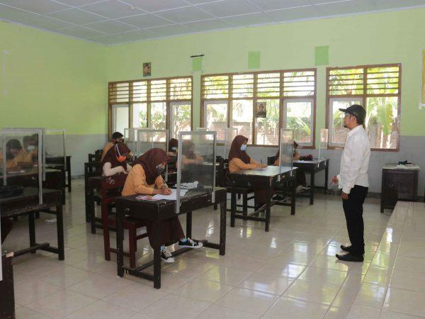 Belajar Tatap Muka Hari Ke-3 Terpantau Lancar dan Disiplin Prokes