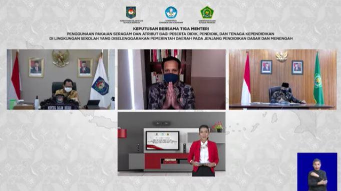 SKB 3 Menteri tentang Penggunaan Pakaian Seragam dan Atribut bagi Peserta Didik, Pendidik, dan Tenaga Kependidikan di Lingkungan Sekolah