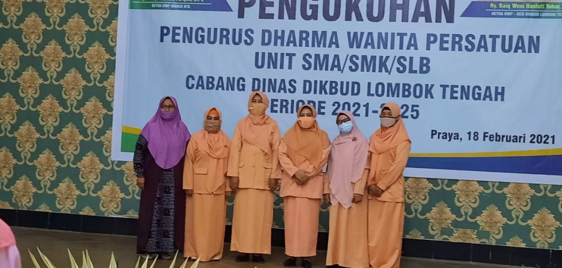 Pengukuhan DWP Unit SMAN 1 Pringgarata