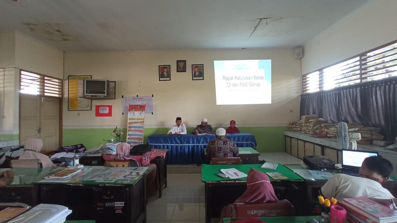 Rapat Penentuan Kelulusan Kelas XII TA. 2020/2021